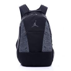 Рюкзак jordan черный с серым
